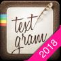 icon Textgram - write on photos