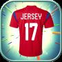 icon Make My Football Jersey